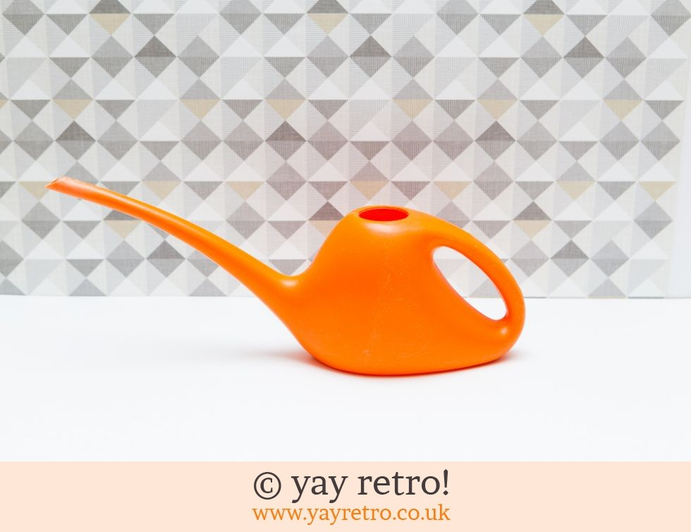 Orange Plastic Watering Can 1960s Buy Yay Retro Handmade Crochet Online Arts Amp Crafts Shop