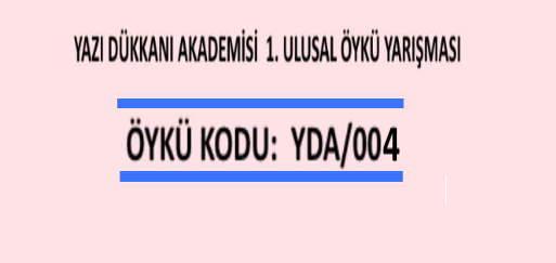ÖYKÜ YARIŞMASI Öykü Kodu : YDA/005
