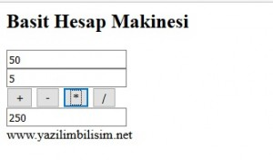 javascript_hesap_makine