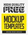 Free Psd Mockups Fresh Mockup Templates Yazoogle