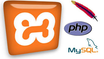 XAMPP Apache PHP MySQL logo