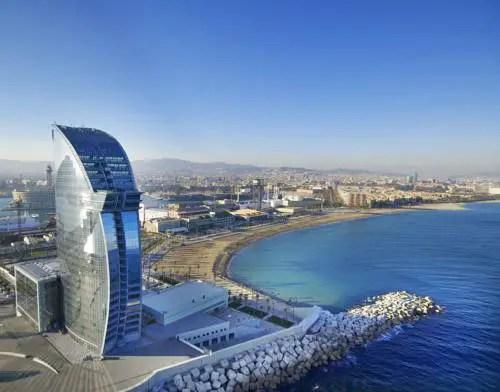 Best hotel to get free loyalty program reward nights in Barcelona : W Barcelona
