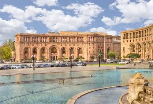 Best hotel to get free loyalty program reward nights in Yerevan : Marriott Armenia Hotel Yerevan