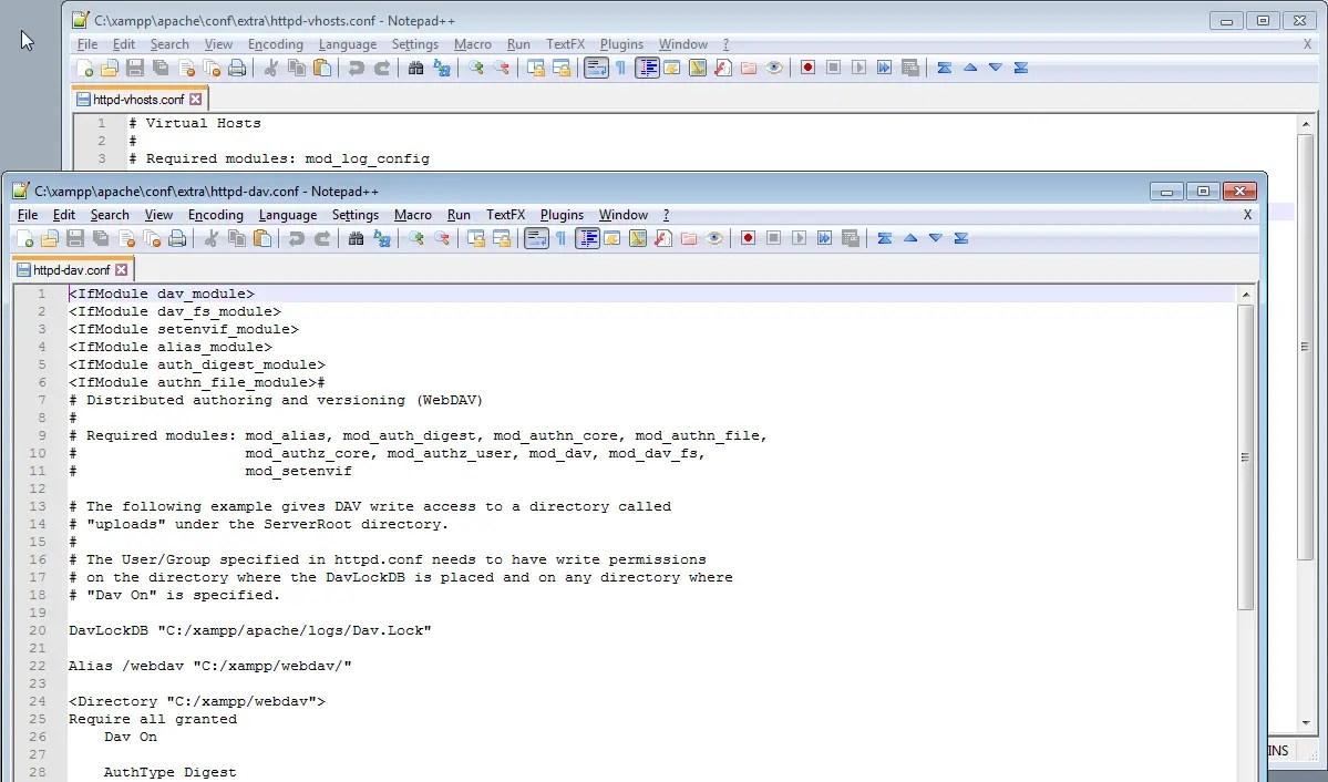 notepad++ – International SAP Web consulting