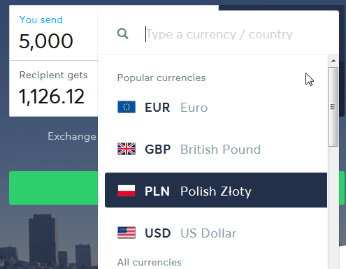 TransferWise, the best way to send money abroad : Currency list growing
