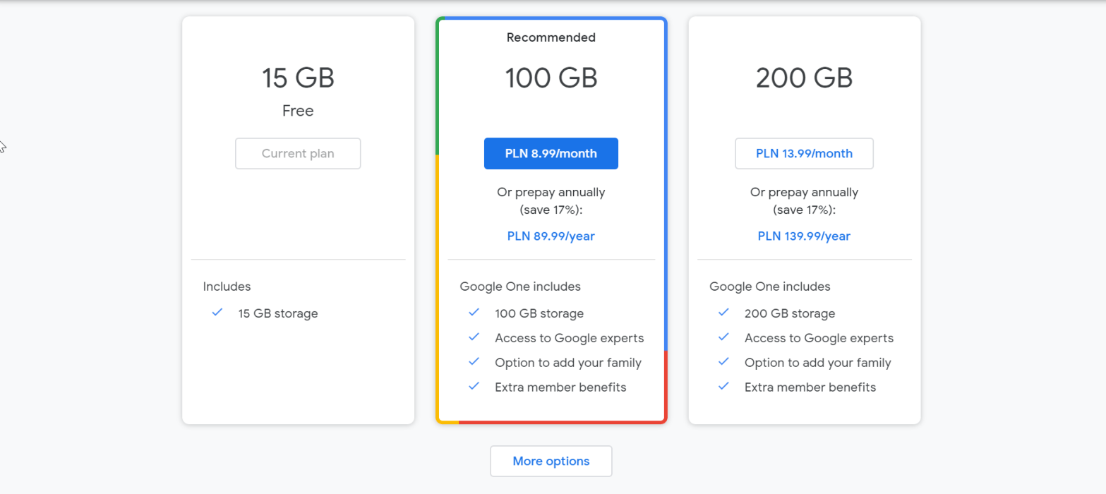 How to get more Google Drive storage for free?