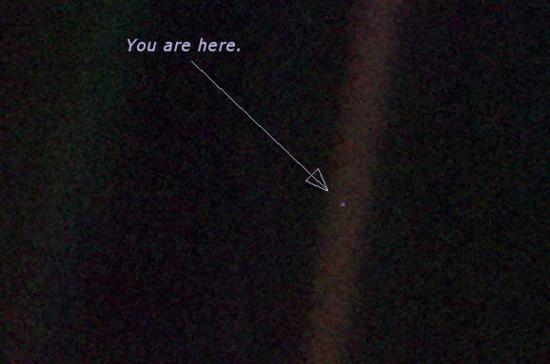 Resultado de imagen de pale blue dot