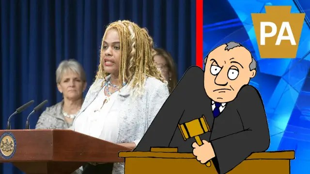 Pennsylvania State Representative Margo L. Davidson (D-Pa.) left. (File Photo)
