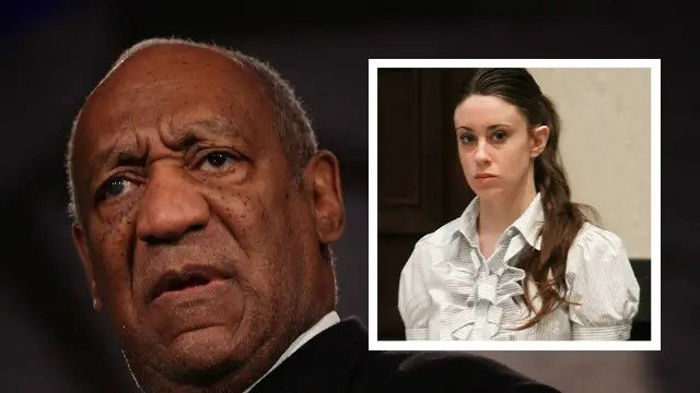 Bill Cosby (Getty Images) Casey Anthony (Associated Press)