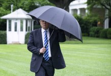 President Donald J. Trump walks along the South Lawn at the White House, in Washington, D.C., Wednesday, May 16, 2018, and boards Marine One en route to Walter Reed Military Medical Center, in Bethesda, MD. (Official White House Photo by Andrea Hanks)