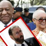 Actor and comedian Bill Cosby and his wife Camille arrive for the closing arguments in the retrial of his sexual assault case at the Montgomery County Courthouse in Norristown, Pennsylvania on April 24, 2018. (Photo: DOMINICK REUTER/AFP/Getty Images) & Montgomery County Judge Steven O'Neill returns to the courtroom after a lunch recess to preside over Bill Cosby's sexual assault retrial at the Montgomery County Courthouse in Norristown. The judge ruled Friday that Cosby is to be confined to his mansion until sentencing (Pool Photo/Associated Press)