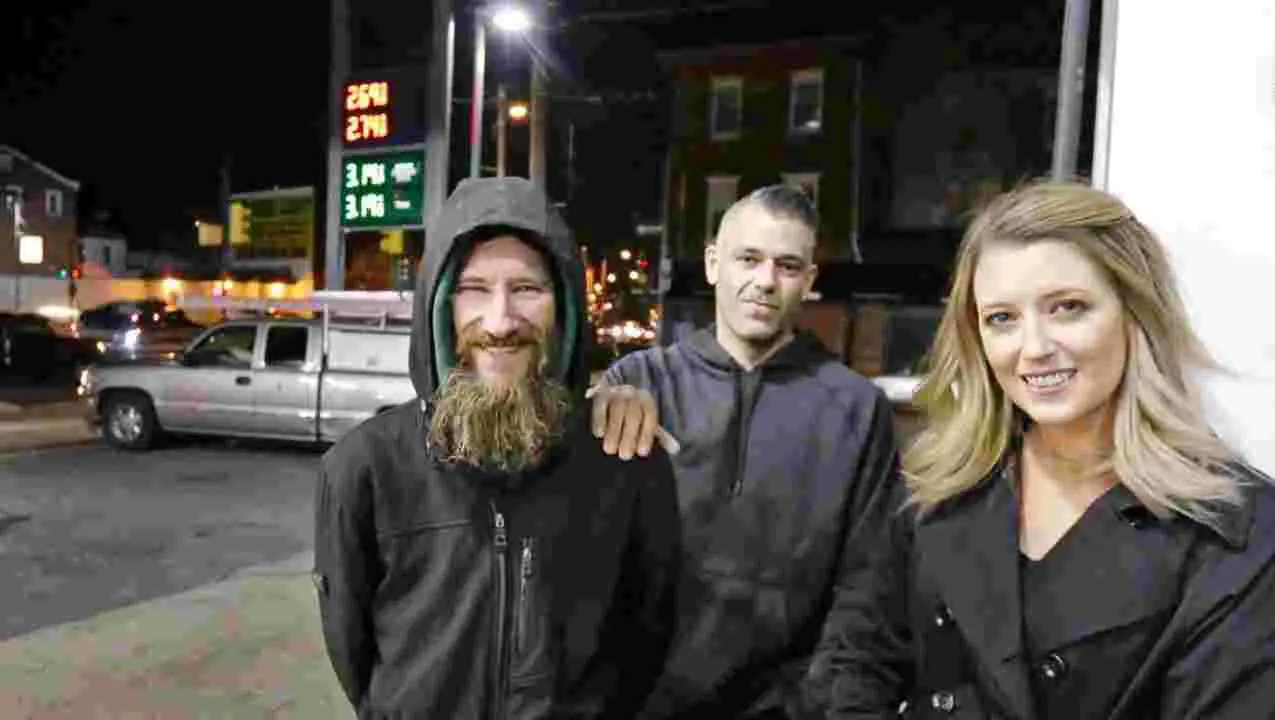 Cops search home of couple who raised funds for homeless man
