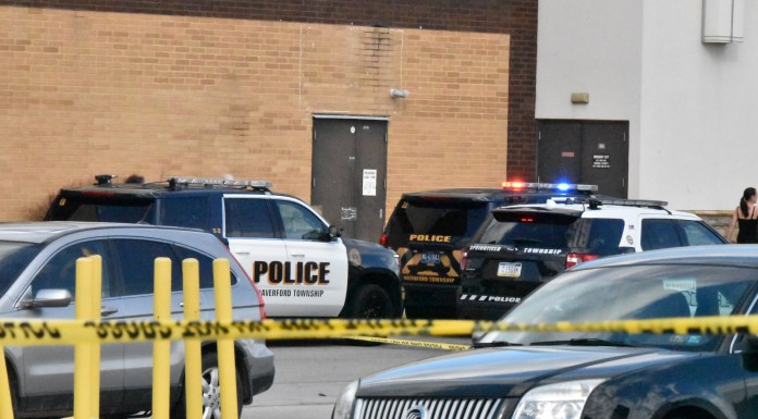 Springfield Mall shooting Saturday in suburban Philadelphia sends mall-goers scrambling for cover after shots are fired in the parking lot following an altercation inside. (yc.news)