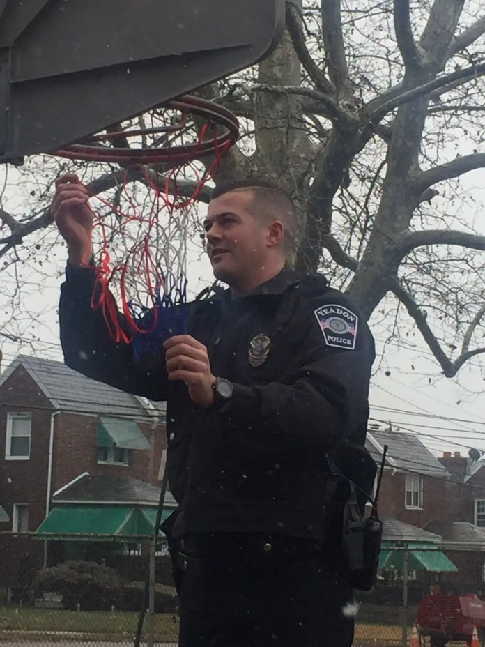 Officer Austin Gallagher, Yeadon Police Department, Delaware County