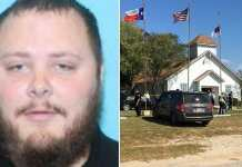 Texas church gunman Devin Kelley photographed.