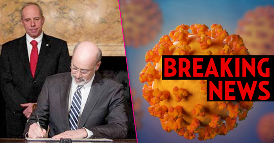 Pa. Gov. Tom Wolf has SIGNED the COVID-19 'Disaster Declaration' » Your Content