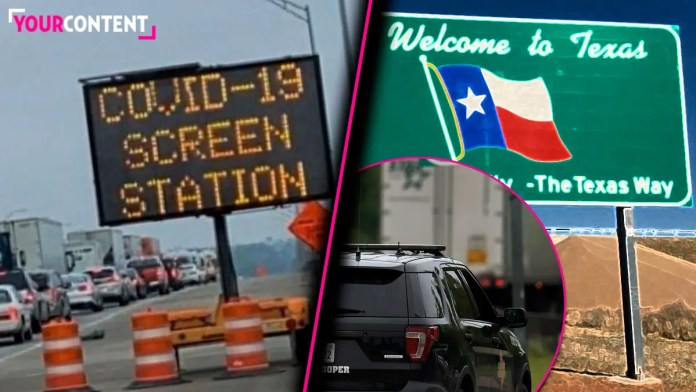 COVID-19 Screening Checkpoints Placed At All Texas Points of Entry