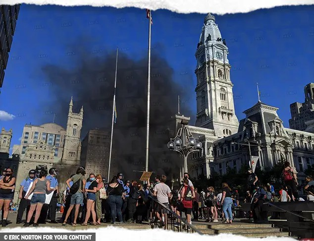 Philly Under Attack by Rioters, 2,000 People Storm Buildings: Police Being Hit with Chemical Weapons