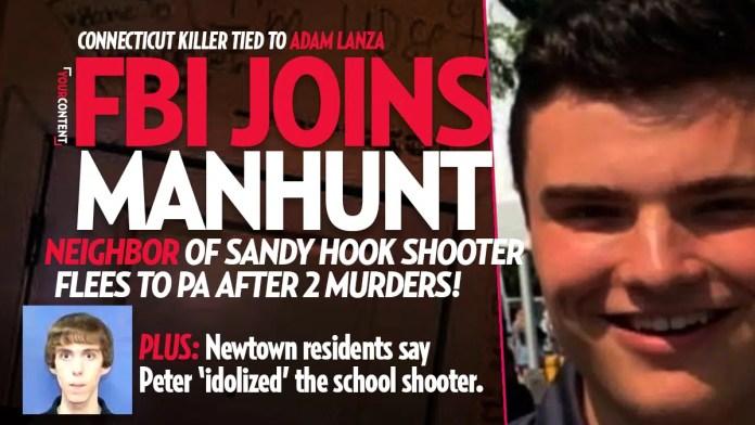 FBI Joins Massive Manhunt for Killer Peter Manfredonia, Neighbor of Sandy Hook Shooter