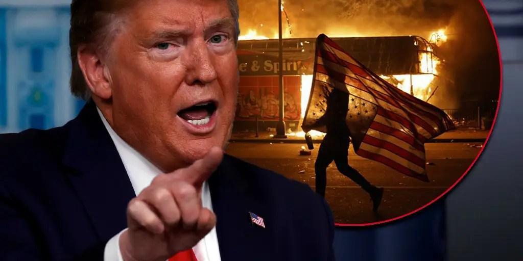 President Trump Activates Pentagon Response, Military Police on Alert to Go to Minneapolis