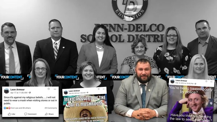 Penn-Delco Board of School Directors President Claims COVID Won't Kill You, Says Cop Beatings Are a Result of Bad Behavior