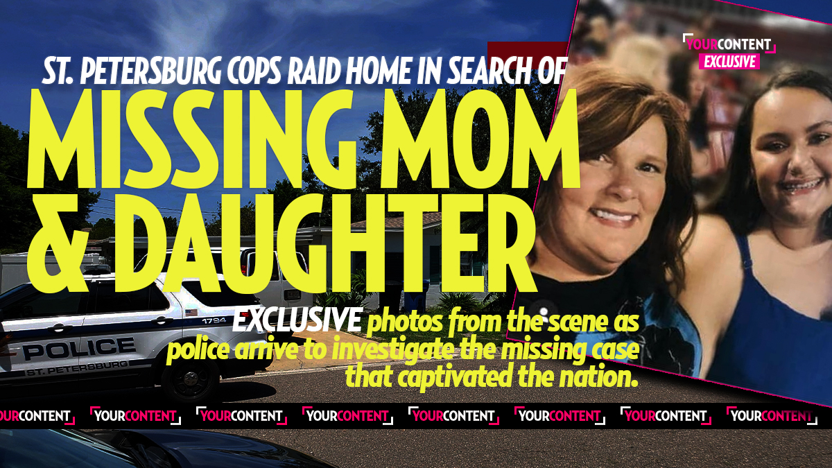 Heavy Police Presence at Home of Missing Mom and Daughter Who Vanished from St. Petersburg