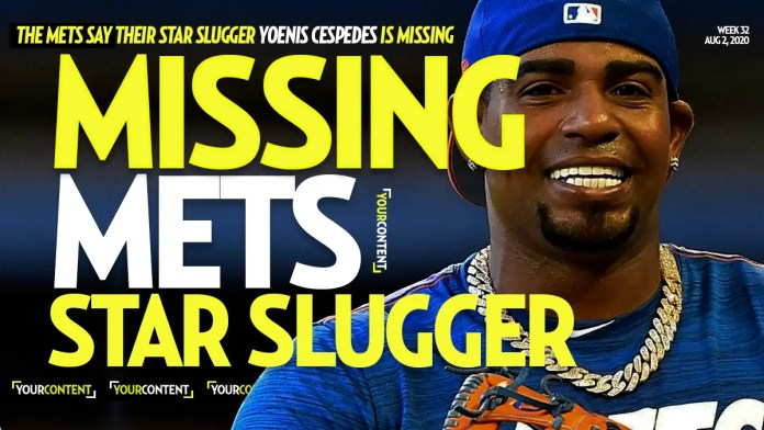 New York Mets Star Slugger Yoenis Cespedes 'Missing' After NOT Showing Up to Practice- Team