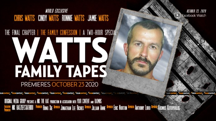 Exclusive Prison Visit with the Colorado Killer Chris Watts and His Last 3 Living Relatives to Debut Oct. 23