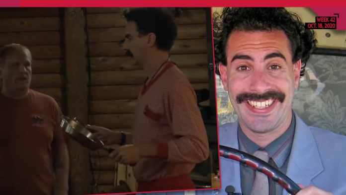 Borat Finds Voter Who Reveals 'The Democrat IS More Dangerous Than Coronavirus'