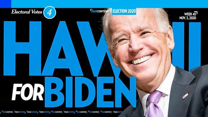Joe Biden Wins Hawaii