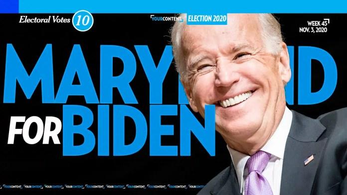 Joe Biden Wins Maryland