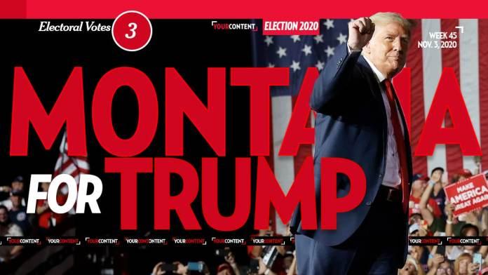 President Donald Trump Wins Montana