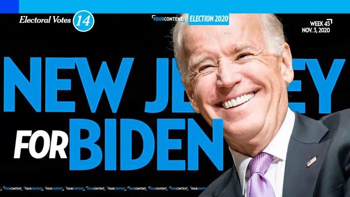 Joe Biden Wins New Jersey