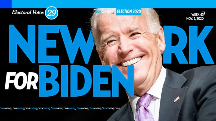 Joe Biden Wins New York