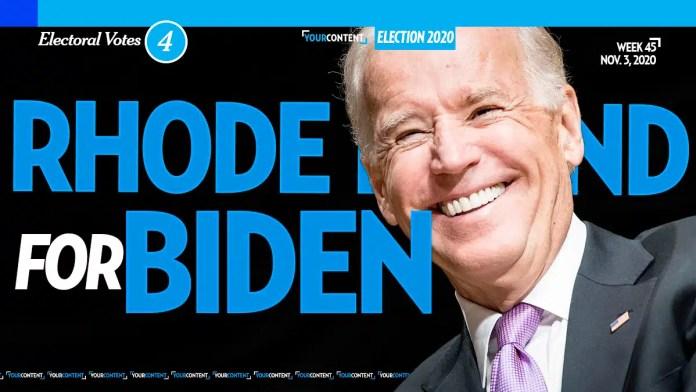 Joe Biden Wins Rhode Island