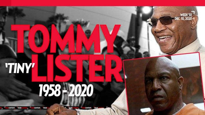 Tommy 'Tiny' Lister, Famous for 'Friday' Dead at 62