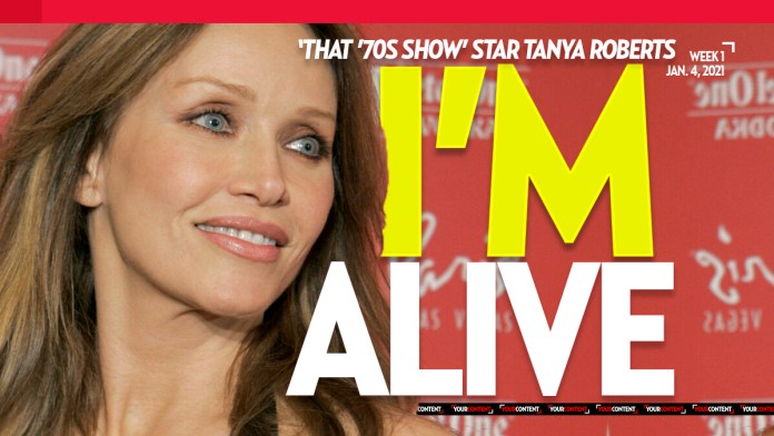 'That '70s Show' star, Tanya Roberts, is ALIVE, not dead