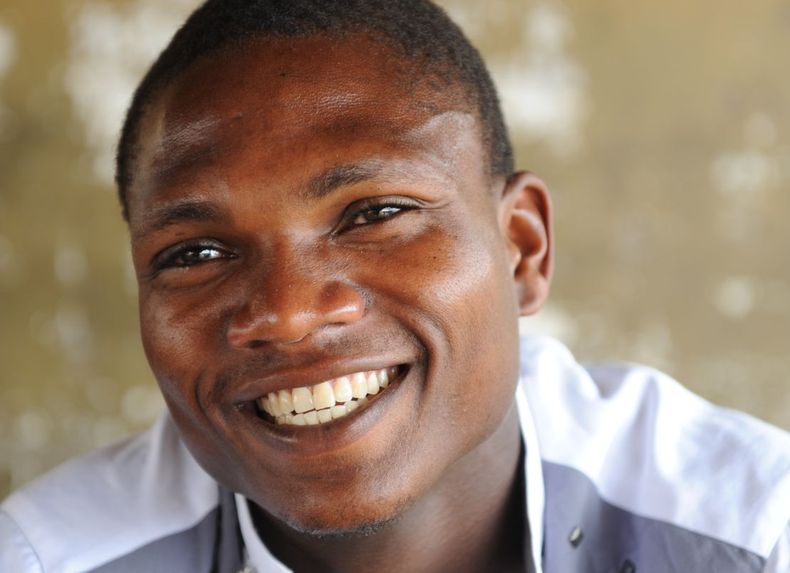 YMCA Liberia, young man smiling