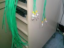 整線過程標註線號以便IT維護管理