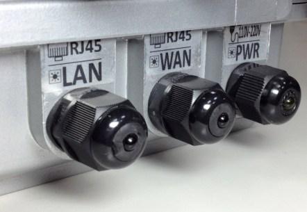 YC-2858AN,戶外,耐候型,高速,遠距離無線網路 (防水LED燈號)