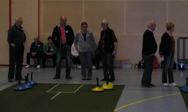 Snart dags för spelstart vid höstomgångens klubbmatch mot Rångedala.