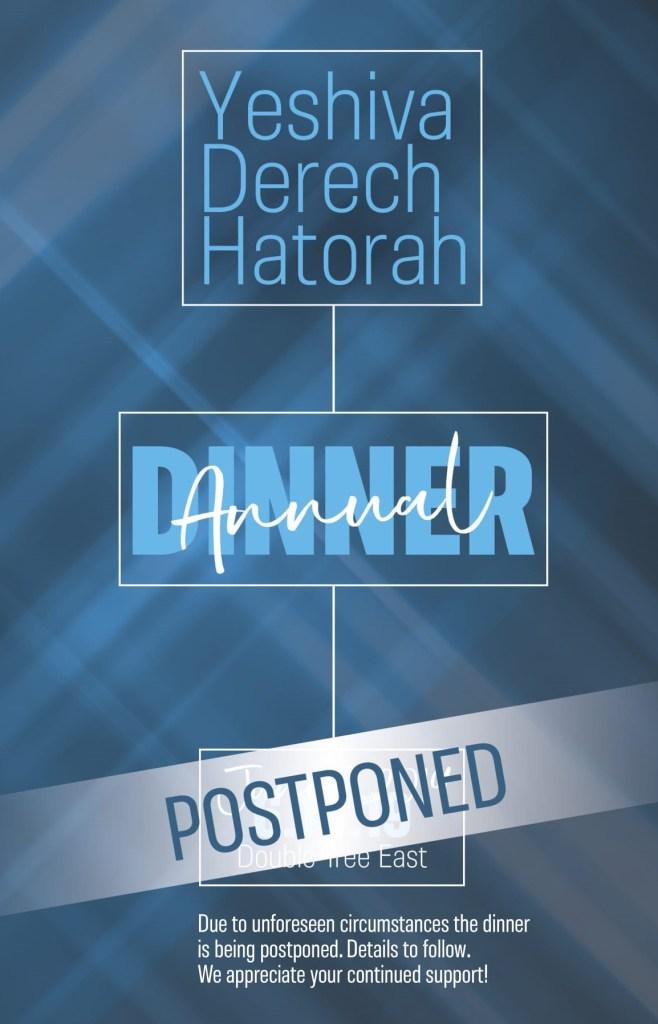 postponement postcard