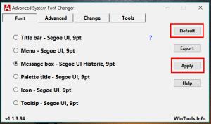 como cambiar fuente en windows 10