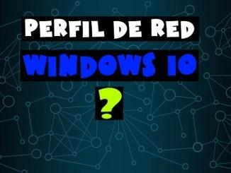 como cambiar de red publica a privada windows 10