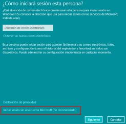 crear un nuevo usuario en windows 10