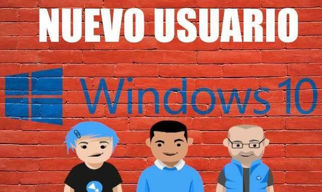 crear nuevo usuario en windows 10