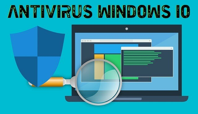 ACCESO DIRECTO ANTIVIRUS WINDOWS 10