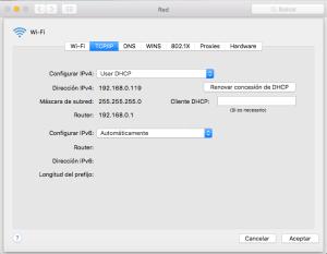 como saber ip en mac