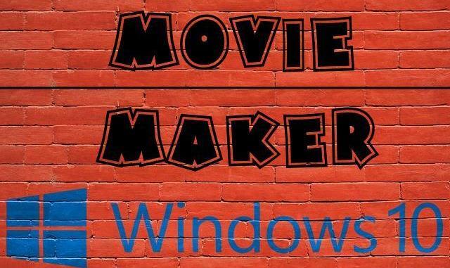 movie maker windows 10