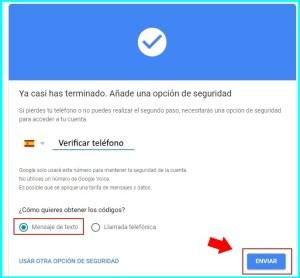 verificacion google telefono